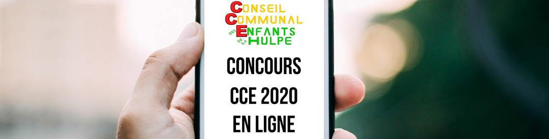 Concours «CCE 2020 en ligne»